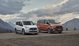 Nové modely Ford Tourneo a Transit Connect Active