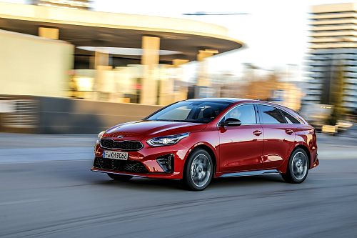 Kia ProCeed míří do Česka
