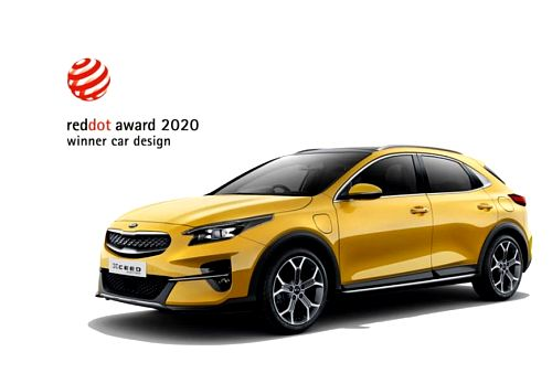 Red Dot Design Award 2020 pro model Kia XCeed